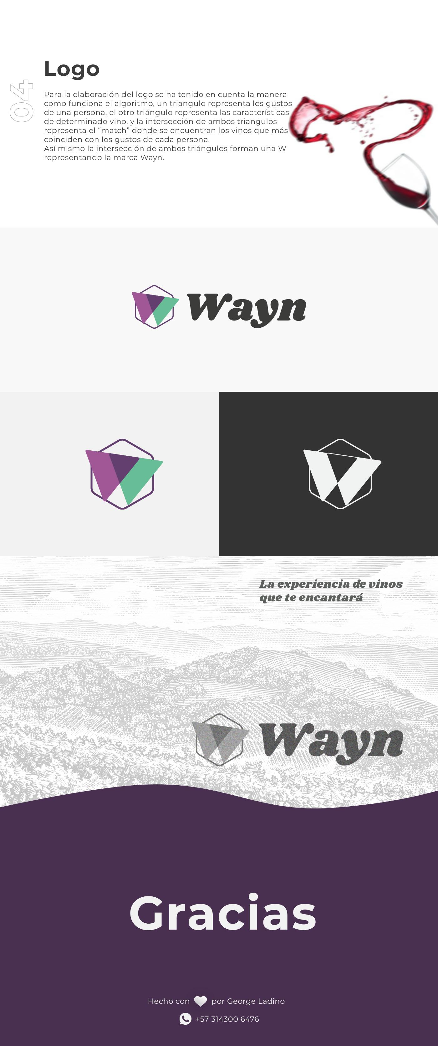 Diseño Logo pagina wayn